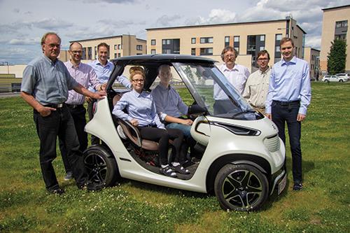 garia golf car team
